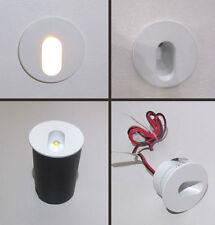 SEGNA PASSO TONDO MINI SPOT LED - ORIENTATO per uso interno da 1 W - luce  calda