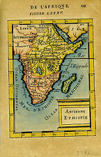 1683 Genuine Antique map Ancienne Ethiopie, Ethiopia, Africa. AM Mallet