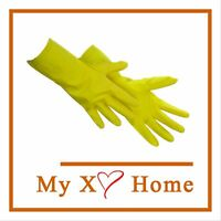 Unlined Green Nitrile Gloves HD 15 Mil by MyXOHome 12 Pairs