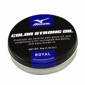 Mizuno Strong Oil Color Baseball/Softball Glove Conditioner - Royal