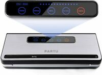 PARTU Vacuum Sealer Machine For Keeping Fresh On Summer Dry/Moist Mode || Includ