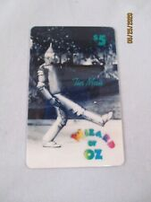 Wizard of Oz Tin Man Collector Phone Card 1st Edition 3/94