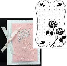 Love Embossing Folder Nellie Snellen embossing folders Efe018 Roses,dots,wedding
