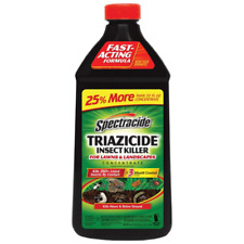 Spectracide Triazicide Insect Killer For Lawns Landscapes Concentrate 40 oz