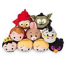 US Disney Store Sleeping Beauty Mini Tsum Tsum Complete set of 9 NWT! Aurora