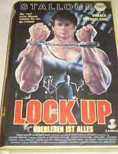 Lock Up - VHS/Action/Sylvester Stallone//Donald Sutherland/VMP 6378/FSK 18
