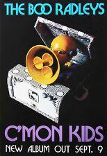 The Boo Radleys 1996 C'Mon Kids Album Promo Poster