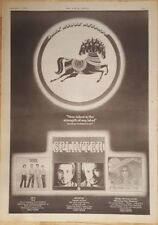 Jiva SPLINTER Henry McCullough 1975 STAMPA PUBBLICITARIA FULL PAGE 28 x 39 cm