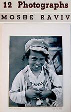 """BAUHAUS Vorobeichic MOI VER Israel PHOTO BOOK Jewish PHOTOGRAPHY ART """"SAFAD"""""""