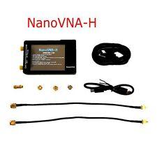 NanoVNA-H HF UHF VHF 50K-1.5GHz Vector Network Analyzer Antenna + Case + Battery