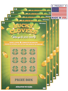 6 Pregnancy Baby Announcement Scratch Off Cards Fake Lottery *MUST L👀K! SO FUN!