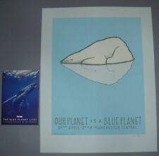Jay Ryan Blue Planet Manchester Poster Print Program Signed Numbered BBC 2008