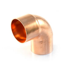 2 X NEW ELBOWS - END FEED 42 mm Male end fits inside a fitting  Plumbing, street