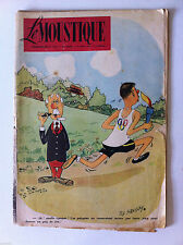 Tv Radio MOUSTIQUE 3/08/1952: Couverture Ted Smedley/ Dick Wingert