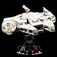 Acryl Display Stand Acrylglas Standfuss für LEGO 7965 Millennium Falcon