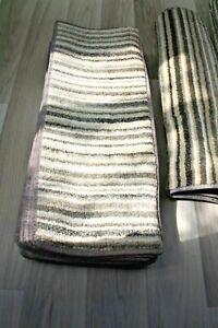 21x8.50inches(53x22cm) X12 SOFT LUXURY BEIGE STRIPE  STAIR PADS   #5124