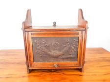 Antique Victorian Wooden Medicine Cabinet Kitchen Bathroom Wall Mounted Vanity