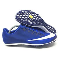 New Mens Nike Zoom 400 Track & Field Running Spikes Blue Size 10.5 AA1205 411