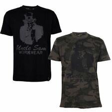 UNCLE SAM Herren T-Shirt mit stylischen Front-Aufdruck