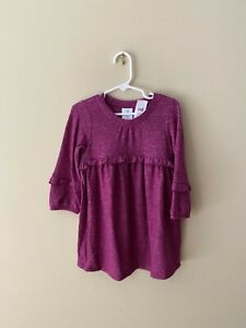 GAP toddler purple orchid blossom dress - 3T NWT