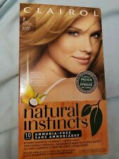 Clairol Natural Instincts Hair Color Sahara Light Blonde #2 New In Box