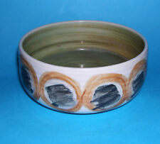 Bembridge Pottery Isle Of Wight - Attractive Abstract Design Bowl (M.Marks).