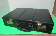 Ashten Products Lawyers Attache Black Faux Leather Briefcase Set Your Own Combo