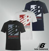 Mens New Balance Athletic Fit Cotton Knockout T Shirt Top Sizes from S to XXL