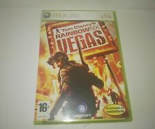 Tom Clancy's Rainbow Six: Vegas pal Spain/España Xbox 360 Original Box
