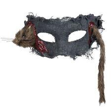 Rata a través de su cabeza Máscara Horror Zombie Vestido de fantasía de Halloween Accesorio