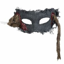 Rat Through Your Head Eyemask Halloween Zombie Horror Fancy Dress Accessory