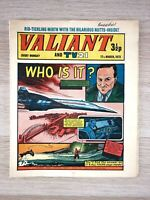 Valiant weekly Magazine UK comic for boys, 17/03/1973 IPC Magazines Vintage rare