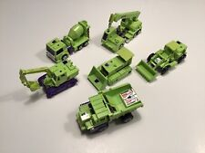 vintage transformers devastator 1985