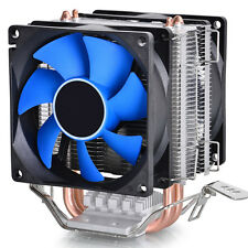 Dual Fan CPU Cooler Heatsink Silent for Intel LGA775/1156/1155 AMD AM2/AM2+/AM3