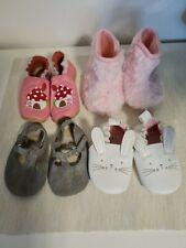 4 Paar Babyschuhe Mädchen 03 Bis 06 Monaten