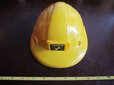 Halloween Costume Tool Hard hat Helmet yellow play Kids Dress up worker builder