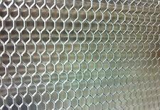 Lamiera Alluminio Forata Stirata x stufe radiatori cm 50x100 maglia mm 15x6