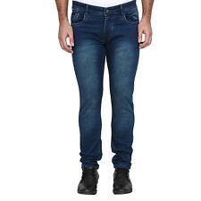 Men's Blue Jeans Gas Blue Solid Denim For Men & Boys Size-32
