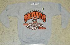 Cleveland Browns DAWG POUND Crew neck Sweatshirt sz Youth Medium 10-12 Dog Pound
