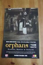 TOM WAITS - ORPHANS - ADVERT 20.5 x 29.5cm.