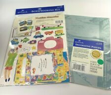 Hallmark Vacation Memories Scrapbooking Kit And Decorative Papers Lot