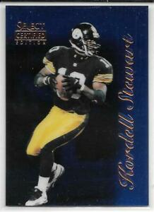 KORDELL STEWART BLUE ROOKIE /200 1996 SELECT CERTIFIED EDITION 35 STEELERS SP