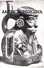 America Indigena Tomo I Luis Pericot Y Garcia Booklet