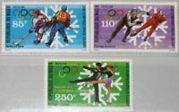NIGER 1988 1043-45 783-85 Olympics Calgary Gold Medal Winner ovp Olympia mNH