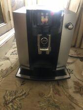 Jura E6 Automatic Coffee Machine Platinum(READ DESCRIPTION)