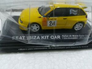 Seat Ibiza Kit Car -Rallye Montecarlo 1999- Gardemeister/Lukander - Scala 1/43