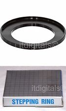 Step-up Metal Stepping Adapter Ring 49mm-58mm 49mm Lens to 58mm Filter Cap Japan