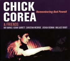 Chick Corea & Friends - Remembering Bud Powell CD 1997 Stretch Records ** NEW **