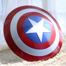 CAPTAIN AMERICA SCUDO SCALA 1:1 IN ABS - COSPLAY AVENGERS CAPITAN SHIELD HELMET