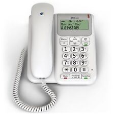Brand New BT Décor 2200 Corded Telephone White Phone BT New